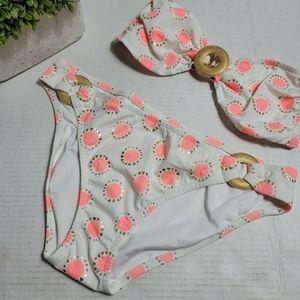 Victoria's Secret Medallion Print Bikini Strapless